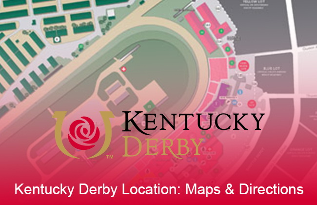 Kentucky Derby Location Maps Directions
