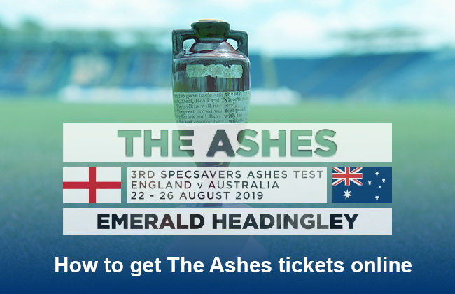 Ashes tickets