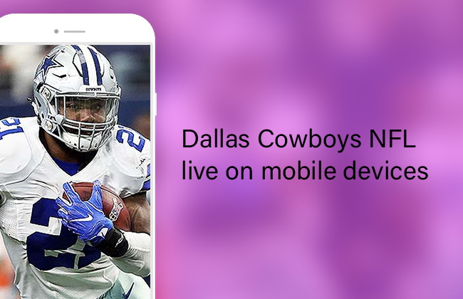 Cowboys NFL 2019 live on mobile devices